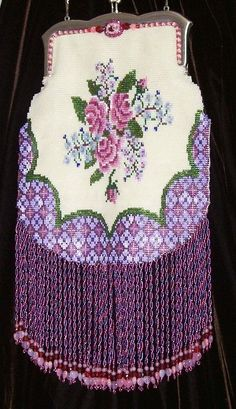 Rose Boquet Beaded purse - Bead&Button Magazine Community - Forums, Blogs, and Photo Galleries