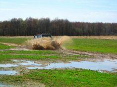 Jeep Wrangler Mud fun