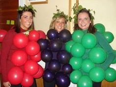 A Bunch of Grapes - Halloween Costume