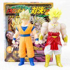 Dragon Ball Z Son Gokou Broly PlayHero VS. Set Action Figure BANDAI JAPAN ANIME - Japanimedia