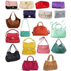 Soft Classic bags by wichy on Polyvore featuring Lotus, Mossimo, Miu Miu, simmon, Marc by Marc Jacobs, Banana Republic, Vivienne Westwood, Bottega Veneta, Valentino and Bakers