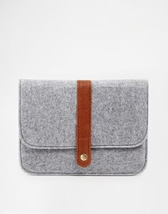 ASOS iPad Mini Case in Wool Fabric with Strap