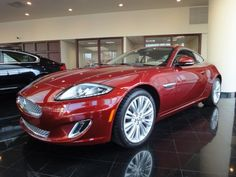 Lovely 2012 Jaguar XK Coupe In Claret At Park Place Jaguar Plano