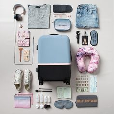 Travel essentials new travel, travel style, florida travel, travel bags, . Travel Packing Checklist, Travel Bag Essentials, Road Trip Packing, Suitcase Packing, Road Trip Essentials, Road Trip Hacks, Travelling Tips, Packing Tips, Airplane Essentials