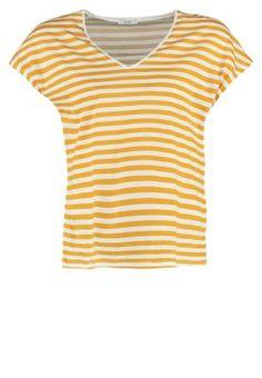 T-shirts KIOMI T-shirt imprimé - golden glow/white jaune chiné: 19,95 € chez Zalando (au 23/01/16). Livraison et retours gratuits et service client gratuit au 0800 490 80.
