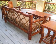 16 Best Rustic Deck And Patio Furniture Images In 2015 Rustic Deck