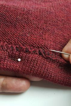 61ac8e10d4dce Crafting Fashion  The Best Hem - Two ways to hem a sweater knit by hand  when sewing sweaters