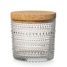 Kastehelmi Jar 11x11cm, Clear, Iittala