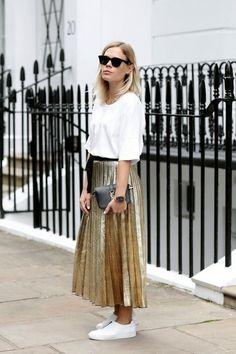 5 ways to wear a maxi skirt