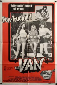 The Van Original 1977 Australian One Sheet Movie Poster, Hot Rod Genre. Available to purchase from our website.