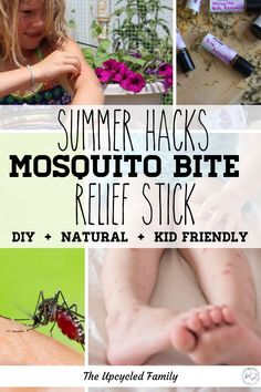 Mosquito bite remedy, the best thing next to not getting the bite at all is this easy natural DIY remedy you can use on any mosquito bite. Guaranteed to stop the itch prevent infection and start the healing process. Stop Mosquito Bite Itch, Mosquito Bite Relief, Itchy Mosquito Bites, Remedies For Mosquito Bites, Natural Cures, Natural Healing, How To Tr, Tips & Tricks, Holistic Wellness