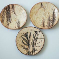 56 creative DIY tableware ideas – Page 41 of 56 – Handwerk und Basteln Pottery Plates, Slab Pottery, Ceramic Pottery, Ceramic Art, Diy Tableware, Ceramic Tableware, Pottery Techniques, Ceramics Projects, Plate Design
