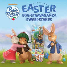 Hop into #Easter with Peter Rabbit! Enter daily to see if your Easter egg reveals a prize! #giveaway