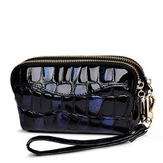 61331bd6a0684 Dvablud Double Zippered Black Wristlet   Trust me this is great! Click the  image. - amazon affiliated pin