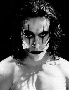 Brandon Bruce Lee (1965 - 1993) as   Eric Draven - 'The Crow', 1994, directed by Alex Proyas.