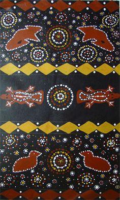 What is Aboriginal Animal Art?