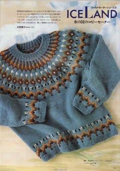 Knitting pullover men fair isles 62 Ideas for 2019 Knitting For Kids, Easy Knitting, Knitting Projects, Knitting Pullover, Pullover Sweaters, Fair Isle Knitting Patterns, Icelandic Sweaters, Fair Isles, Knit Crochet