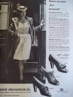 1943 Shoe Ad