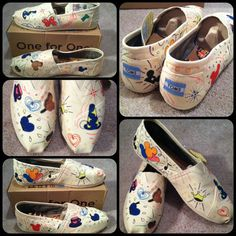 Hey, I found this really awesome Etsy listing at https://www.etsy.com/listing/171267957/funky-disney-world-inspired-toms