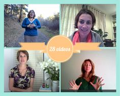 In the New Mama Welcome Pack you get 28 inspiring, helpful, supportive and love filled videos to help you navigate through those difficult newborn days. Videos are from incredible women like Megan Flatt, Amy Simpkins, Helen Butler, Ellen Nightingale, Jessica Cary, Petra Hansen-Adamidis, Krystal Trammell, Lisa Grace Byrne, Vicki Knights, Pippa Best, Steffie Vandierndonck, Renee Duffin, Ellen Nightingale, Soozi Baggs, Kathy Stowell, Mama Melzie, Natalie Garay. --> www.newmamawelcome.com
