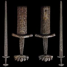 Viking sword with Petersen Type O hilt, Hedeby, Denmark, 10th century