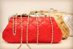 Ideal para fiestas, disponibles  en varios colores Bags, Fashion, Knitwear, Purses, Fiestas, Feminine Fashion, Colors, Handbags, Moda