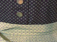 Dirndl mit Schürze, lila lindgrün, Gr.36/S
