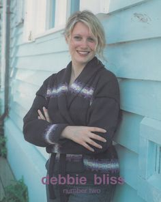 Debbie Bliss Number Two Knitting Pattern Book - Sweater Knitting Patterns - Adult & Childrens Sweaters Knitting Pattern Book by SimplyCraftSupplies on Etsy
