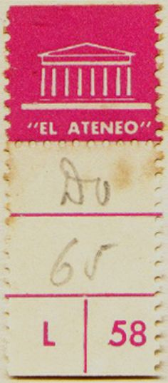 el ateneo, simply beautiful book label