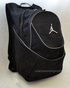 21900ddec02 Nike Air Jordan Jumpman 23 Backpack Laptop Sleeve Black Size 9a1118 804 for  sale online | eBay