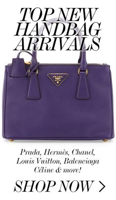 TOP NEW HANDBAG ARRIVALS  //  Prada, Hermès, Chanel, Louis Vuitton...
