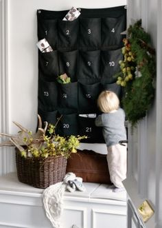 Giant Advent Gift Holder