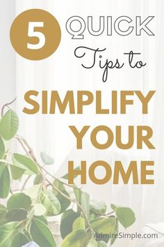 Deep Cleaning Tips, Cleaning Hacks, Declutter Your Mind, Minimalist Living, Minimalist Lifestyle, Making Life Easier, Feeling Overwhelmed, Life Organization, Ways To Save Money