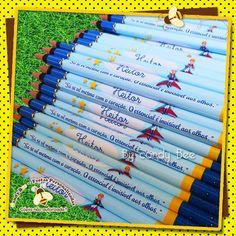 Lápis Personalizado O Pequeno Príncipe http://www.elo7.com.br/lapis-personalizado-o-pequeno-principe/dp/2FBB1C