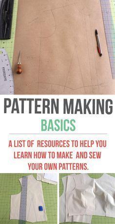 Pattern Making Basics   http://isntthatsew.org/pattern-making-101/