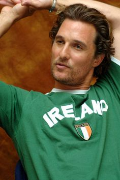 Matthew McConaughey Can't have to many of him