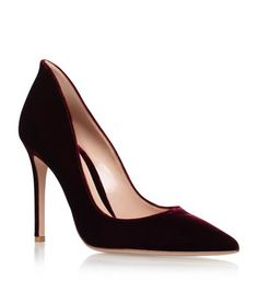 Gianvito Rossi Collard Velvet Stilettos available to buy at Harrods. Shop designer women's shoes online and earn Rewards points.