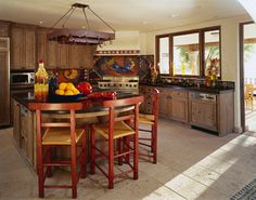 beach style kitchen   Paula Berg Design Associates