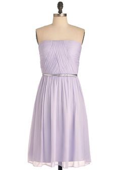 Time of My Life Dress in Lilac -> t'was love at first sight!