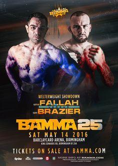 Kayvan 'Wardog' Fallah Vs. Terry 'The Dominator' Brazier #BAMMA25 #MMA #Believe #Birmingham #Bodypower #Combat #Sports #Fighting
