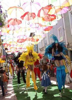 umbrella festival Agueda Portugal