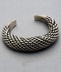 Antique Indonesian Coin Silver Bracelet || $545