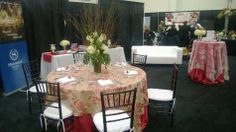 Our wedding booth from the Joy Publication's Wedding Show!