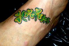 leaf clover tattoo designs - Google Search