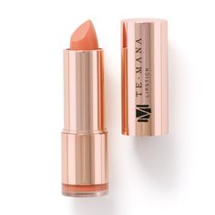 TeMana Lipstick (Tahitian Tan) - Rebel Without Applause Lipstick Colors, Lip Colors, Mauve, Tahitian Noni, Anti Aging, Noni Fruit, Shades Of Peach, Lip Shine, Lipstick Brands