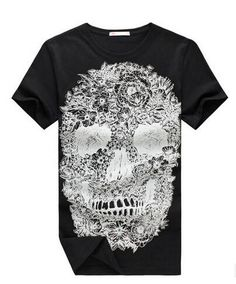 Hip Hop Shirt Skull Art