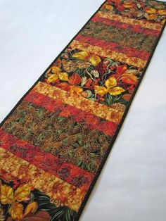 Quilted Table Runner for your Fall Decor