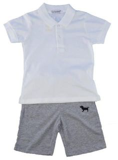 Boys Summer Clothing Sets, Polo and Shorts For Kids, 3-8 Years