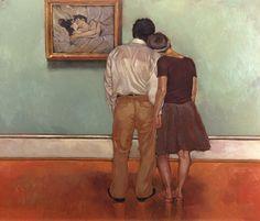 "Joseph Lorusso (American, born 1966) ~ ""Lovers & Lautrec"""