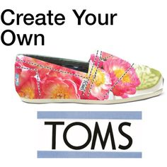 """Spring TOMS"" by yamyiy on Polyvore"